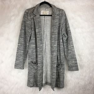 Anthropologie Saturday Sunday Gray Knit Blazer